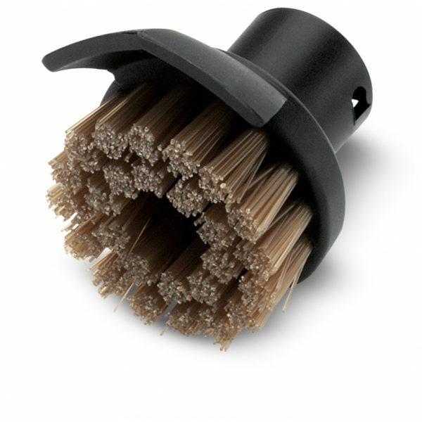 Kir kazıyıcılı yuvarlak fırça